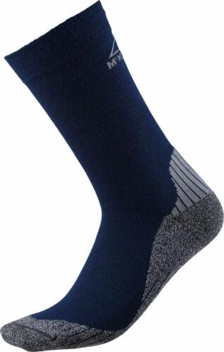 McKinley Damen-Herren-Outdoor-Trekking-Socken FLO CREW blau