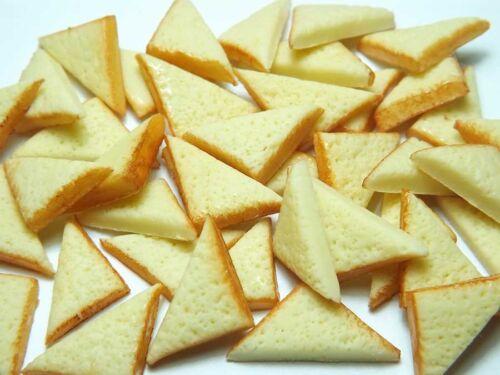 20 Dollhouse Miniature Half Toast Slices * Doll Mini Food Tiny Bread Breakfast