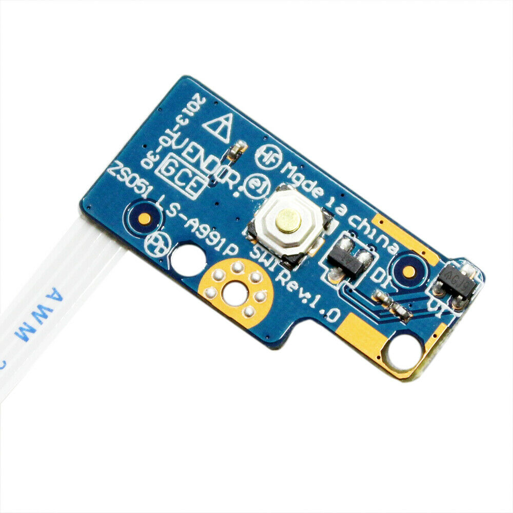 For HP 15-G 15-R 15-R221TX LS-A991P Power Button Switch on off Board with Cable