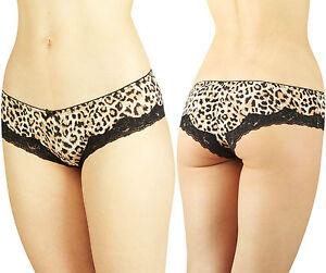 New-Ladies-Leopard-Print-Sexy-Hipsters-Underwear-Womens-Cheetah-Panties-Lingerie