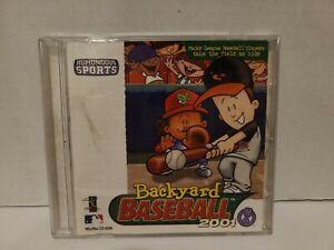 Backyard Baseball 2001 - Win/Mac CD-ROM MLB - 2000 ...