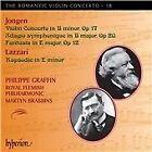 Romantic Violin Concerto, Vol. 18: Jongen, Lazzari (2015)