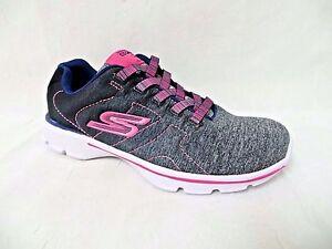 Skechers 81074L CCNN Girl's SKECHERS GOWALK 3-STEALTH Walking Shoes [153B]