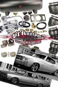 Details about 64-72 Chevelle, El Camino, GTO, LeMans, Tempest, A-Body Air  Ride Suspension Kit