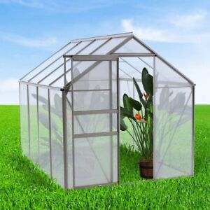oGrow-WALK-IN-Lawn-amp-Garden-Greenhouse-w-Heavy-Duty-Aluminum-Frame-6x4-6x6-6x8-039