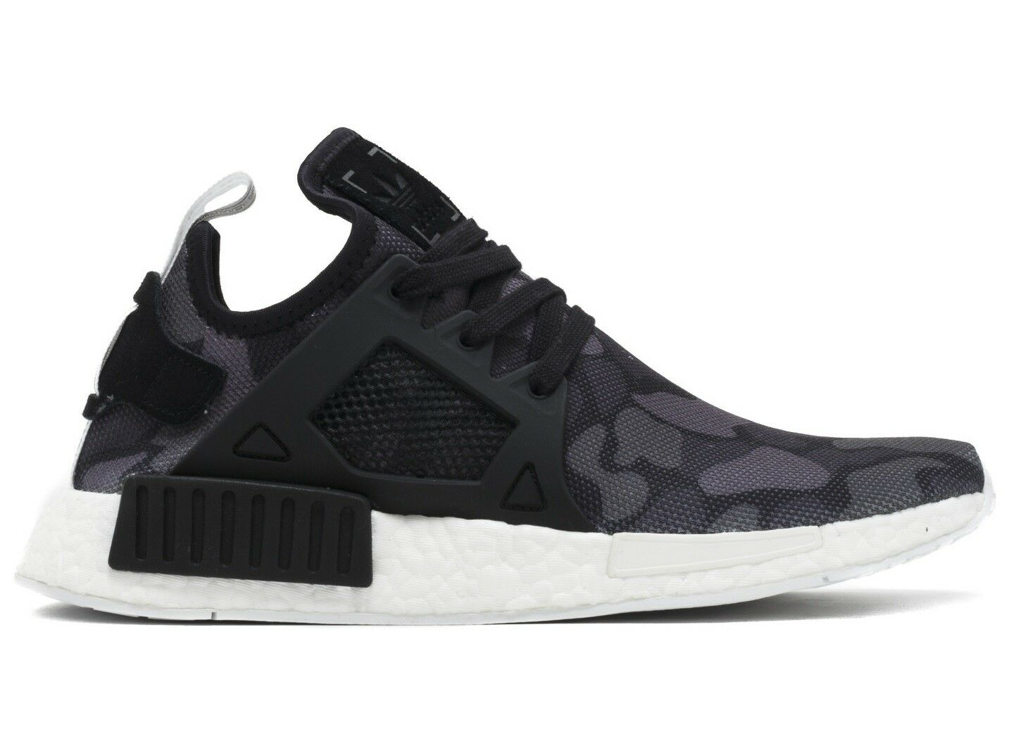Adidas NMD XR1 Duck Camo Mens BA7231 Black White Boost Running Shoes Comfortable