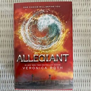 Allegiant-Book-3-of-Divergent-Series-by-Veronica-Roth-2013-Hardcover-1st-Ed
