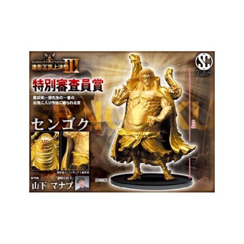 BANPRESTO One Piece figurine Scultures Sengoku Golden Buddha 15 cm