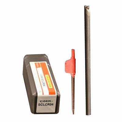 SK C05H-SCLCR03 5×107mm Solid carbide shock tool Shockproof hole lathe