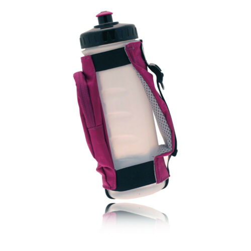 Ultimate Performance Kielder Black Purple Handheld Sport Bottle with Pouch 600ml