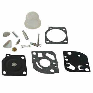 Carburetor-Rebuild-Kit-Fit-Zama-RB-47-Poulan-WeedEater-trimmers-Blowers-C1Q-Carb