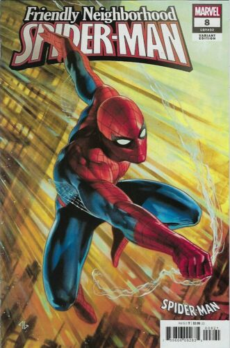 2019 Friendly Neighborhood Spider-Man #8 VF//NM Spider Suit Variant Cover