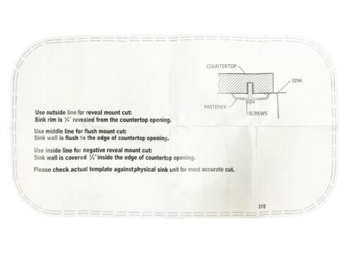 "Stainless Steel Sink 31/"" X 18/"" X 10/"" Undermount Single Bowl 16 Gauge Free Grid"