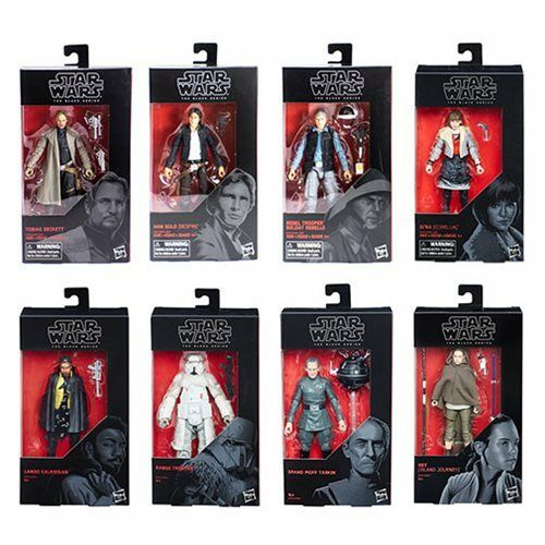 Star Wars The Black Series 6-Inch Action Figure Wave 18 Case, 8 Figures, Hasbro
