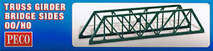 100% De Qualité Peco Lk-11 Oo Gauge Truss Girder Bridge Sides For Model Railways New