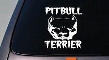 "Pitbull Terrier American pit bull pitbull 6"" decal rescue Amstaff abkc *B162*"