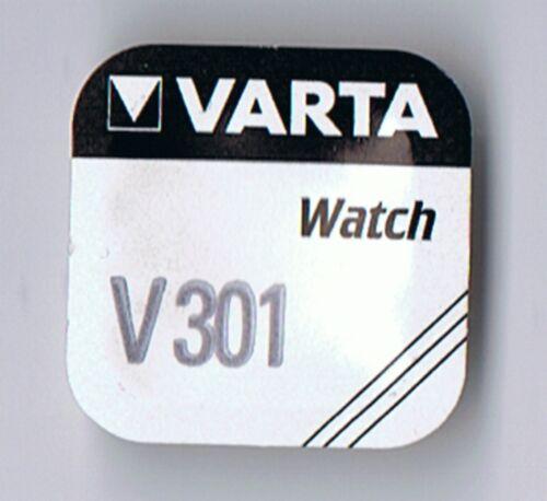 2 x VARTA V301 Knopfzelle Batterie  SR43  SR43SW Uhrenbatterie SR1142  D301