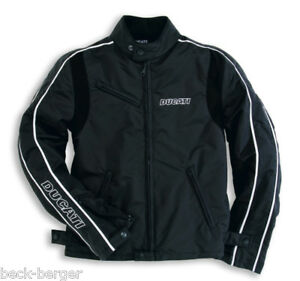 DUCATI-Dainese-Nero-Textiljacke-Tex-Jacke-Jacket-schwarz-NEU