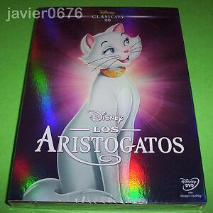 LOS-ARISTOGATOS-CLASICO-DISNEY-NUMERO-20-DVD-NUEVO-Y-PRECINTADO-SLIPCOVER