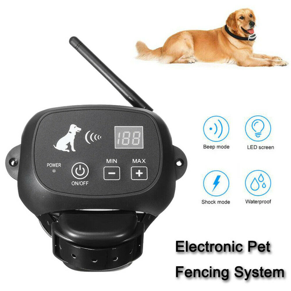 Complete Electronic Pet Fencing System Pet Dog Electric Fence Suit for Pet Cat