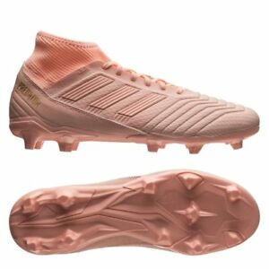 best service 7236a 268e8 Image is loading adidas-Predator-18-3-FG-2018-Soccer-Cleats-