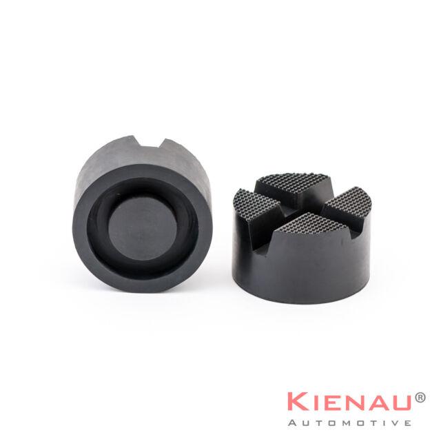 Hebebühne Wagenheberaufnahme Adapter  Wagenheber Gummiblock Gummi 82x45mm V-Nut