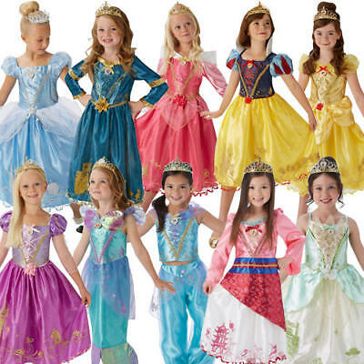 Girl Girls Belle Princess Style Book Day Fancy Dress Costume Various Sizes