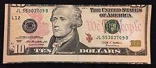 $10 2009 MISALIGNMENT NOTE ERROR -- AU -- BT7689