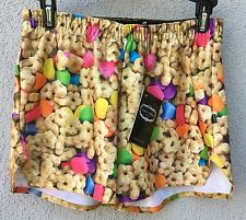 b6d5a83f9248f  50 NWT Zara Terez Multi Color Lucky Charm Design Shorts Girls Size Large 14