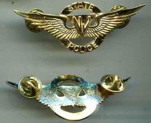 USA:Brustabzeichen:NV-State Police.Pilot 68  mm 1 Stück
