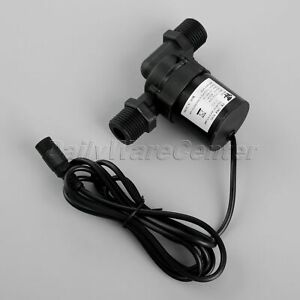 6-12V-Hot-Water-Circulation-Pump-Brushless-Motor-DC-Pump-Wire-w-Female-Interface
