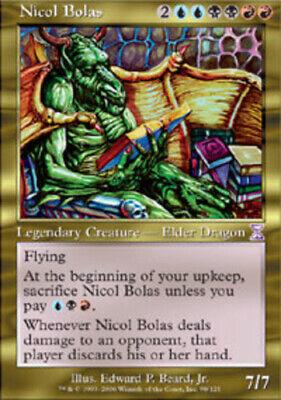 1x Nicol Bolas TimeShifted Light Play English MTG
