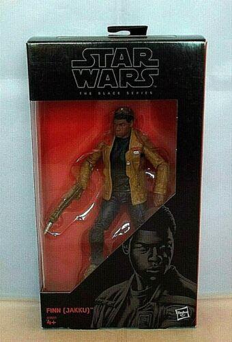 """STAR WARS 01 THE BLACK SERIES B3835 FINN 6 /"""" Figure BOXED Hasbro Disney JAKKU"""