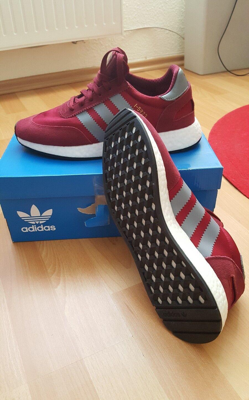 Adidas Originals Iniki I-5923 Boost rot Gr.43 1 3 , 44 2 3 NEU OVP B27871