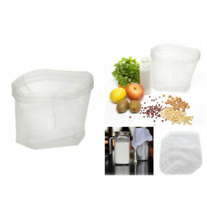 Image Is Loading Tea Coffee Juices Filter Cheese Mesh Cloth Reusable