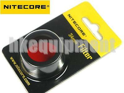 NiteCore NFG34 34mm Green Lens Cap Filter Diffuser for MT25 MT26 EC25 EA45S SRT6