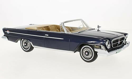1962 Chrysler 300H Congreenible Dark bluee Metallic by BoS Models LE of 504 1 18