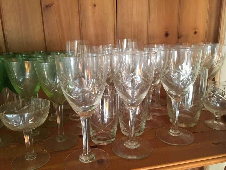 Glas, Øl, vin klare og grønne