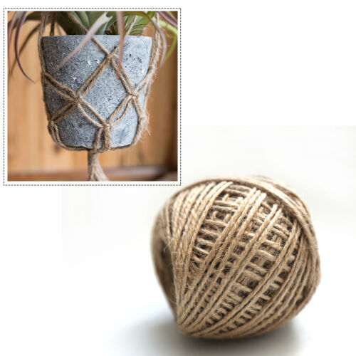 50M Jute Rope String Gift Packing Hang For Handmade Accessory DIY Decoration