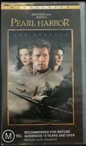 Pearl-Harbor-VHS-Video-Wide-Screen-Edition