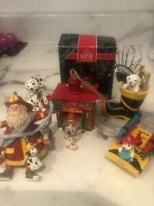 Christmas-Ornament-lot-Dalmatian-Fire