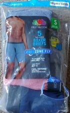 S659 Multicolored XL Fruit of the Loom Men/'s 5pk Coolzone Boxer Briefs
