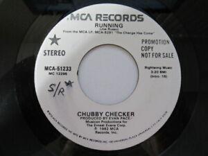 Chubby checker running