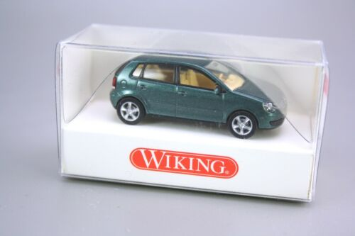 Wiking H0 1:87 Modellauto PKW VW Polo grün 034 38 28 NEU OVP NOS
