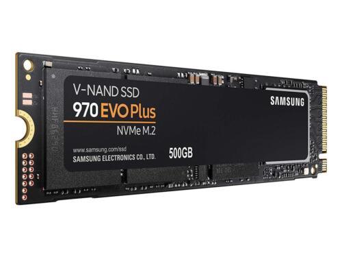 Samsung 970 EVO Plus 500GB PCIe NVMe M.2 500G SSD Solid State Drive MZ-V7S500BW