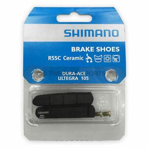 105 SHIMANO bicyc Ultegra Brake Cartridge Set R55C Ceramic Rims for Dura-Ace
