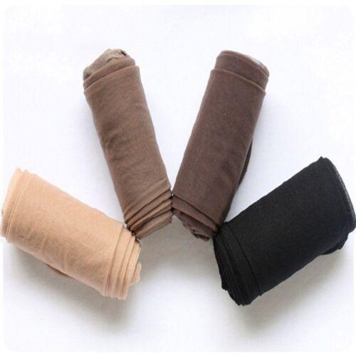 Lot Women Girls Sheer Tights Stocking Panties Pantyhose Long Stockings 4 Colors