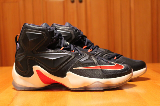 new concept ee1c9 57bef Lebron 13 USA XIII Nike Retro DS 12 Basketball Shoes for sale online   eBay