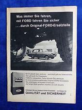 Ford piezas de repuesto-FoMoCo bombardeados publicitarias advertisement 1963 __ (842