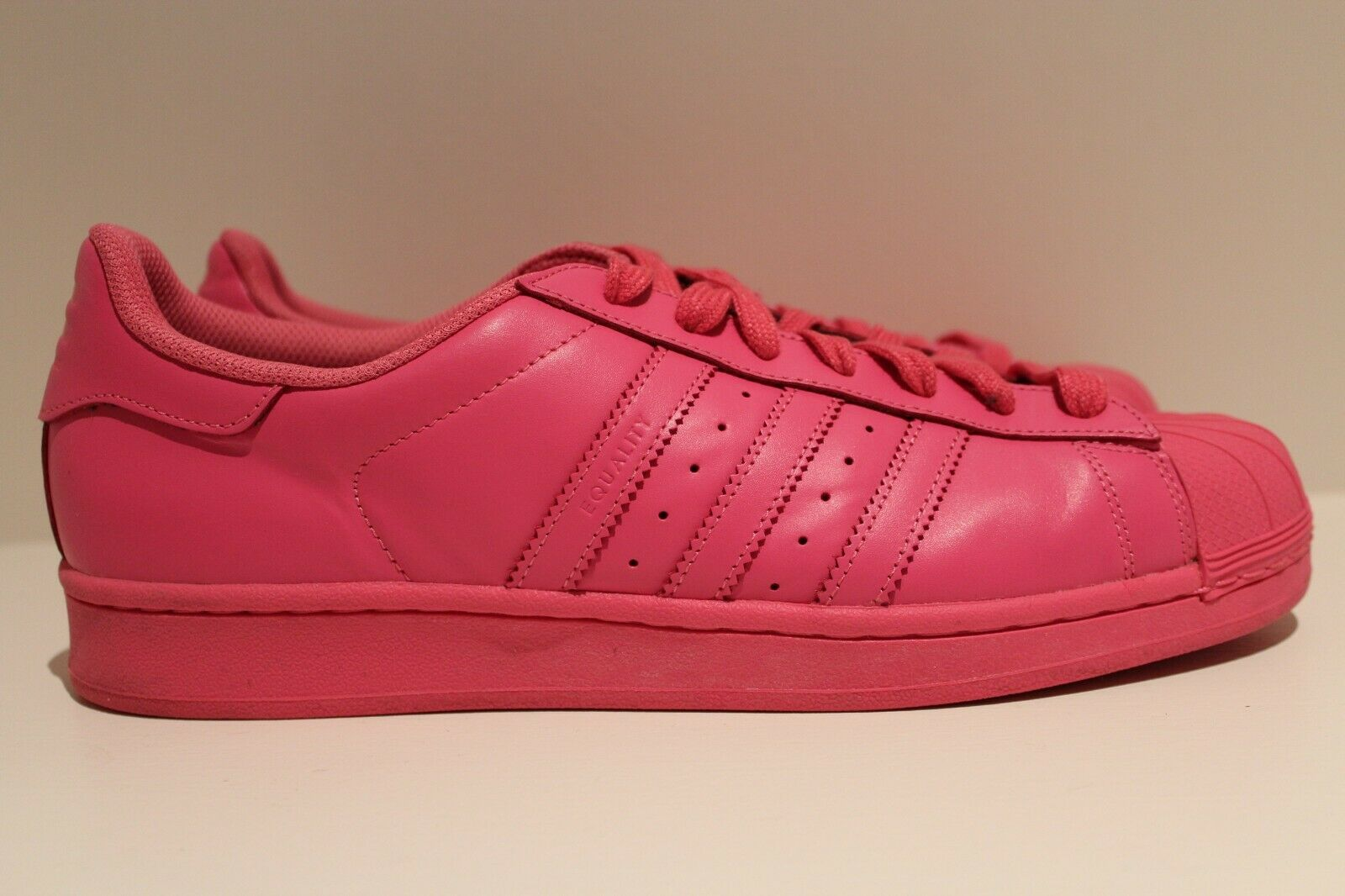 Adidas Superstar Supercolor Pack Pharrell Williams Solar Pink Size 11.5 S41839